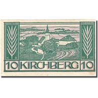 Billet, Autriche, Kirchberg, 10 Heller, Eglise, SUP, Mehl:FS 441b - Autriche