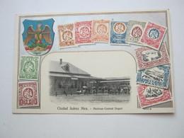 CIUDAD JUAREZ,  Tarjeta Postal - México
