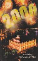 VIETNAM(GPT) - Milleniun Year(60000D), CN : 7MVSD,  Tirage 20000, 12/99, Used - Vietnam