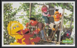 Fiji 2000 MNH Sc #883 Big Bird, Elmo, Ernie Sesame Street London 2000 - Fidji (1970-...)