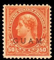 Guam ,  1899 , 50c  ,Scott # 11a , CV$700  MNH ** - Unclassified