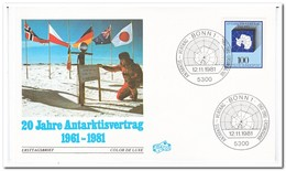 Duitsland 1981, 20 Years Antarctic Treaty - Events & Commemorations