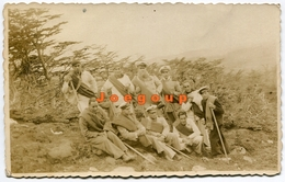 Photo Postcard Military Marines Ushuaia Tierra Del Fuego Paragonia Argentina 1935 - Guerra, Militari