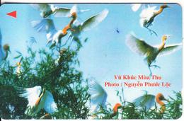 VIETNAM(GPT) - Birds(60000D), CN : 3MVSA, Tirage 20000, 09/98, Used - Vietnam