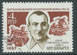 1967 RUSSIA USATO EROI SOVIETICI SCMIREV 4 K - V22 - 1923-1991 URSS