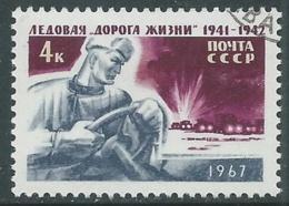 1967 RUSSIA USATO LA STRADA DEI GHIACCI - V22-2 - 1923-1991 URSS