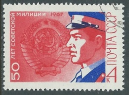 1967 RUSSIA USATO MILIZIA - V22-2 - 1923-1991 URSS