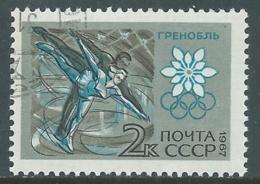 1967 RUSSIA USATO OLIMPIADI INVERNALI DI GRENOBLE PATTINAGGIO 2 K - V22-4 - 1923-1991 URSS