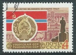 1967 RUSSIA USATO RIVOLUZIONE DI OTTOBRE 4 K - V22-10 - 1923-1991 URSS