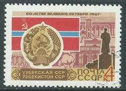 1967 RUSSIA USATO RIVOLUZIONE DI OTTOBRE 4 K - V22-9 - 1923-1991 URSS