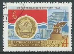1967 RUSSIA USATO RIVOLUZIONE DI OTTOBRE 4 K - V23-3 - 1923-1991 URSS
