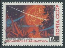 1967 RUSSIA USATO SPAZIO FANTASCIENZA COSMONAUTICA PAESAGGIO 12 K - V22-4 - 1923-1991 URSS