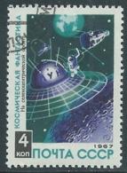 1967 RUSSIA USATO SPAZIO FANTASCIENZA COSMONAUTICA STAZIONE 4 K - V22-5 - 1923-1991 URSS