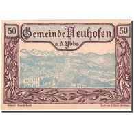 Billet, Autriche, Neuhofen A.d Ybbs, 50 Heller, Village, 1920 SUP+ Mehl:FS 650d - Autriche
