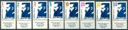 Israël - 1986 - Yt 959/966 - Série Courante Théodore Herzl - Avec Tab ** - Israel