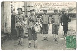 COCHINCHINE - Vietnam - Cholon Tirailleurs Tonkinois - Groupe De Tambours Et Clairons - 1907 - Viêt-Nam
