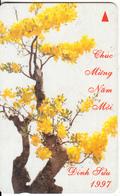 VIETNAM(GPT) - Lunar New Year 1997(60000D), CN : 9UPVA, 01/97, Used - Vietnam