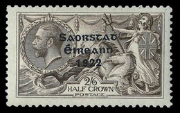 Ireland , 1922, 2/6  Seahorse, Accent Omitted , SG 64b  ,scarce , MNH ** - Unclassified