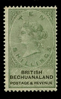 British Bechualand, 1888, 10/  Green , SG.19.  ,scarce , MNH ** - Unclassified
