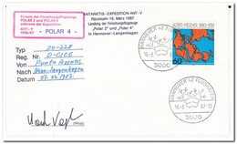 Berlijn 1987, Antarctic Expedition Ant-V, Airplane Polar IV - Andere Vervoerswijzen