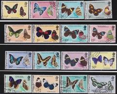 Belize   .   SG  .    380/395     .    O      .   Cancelled       .   /    .   Gebruikt - Belize (1973-...)