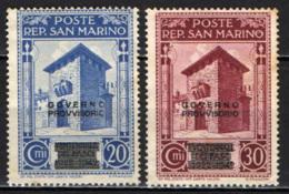 SAN MARINO - 1943 - VENTENAALE DEI FASCI SAMMARINESI - SENZA GOMMA - San Marino