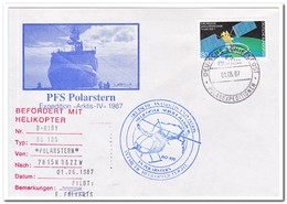 Duitsland 1987, FS Polarstern Arktis IV, Carried By Helicopter - Poolshepen & Ijsbrekers