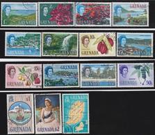 Grenada    .   SG  .   231/245     .    O      .   Cancelled       .   /    .   Gebruikt - Grenada (...-1974)