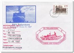 Noorwegen 1987, FS Polarstern Arktis IV, Carried By Helicopter - Poolshepen & Ijsbrekers