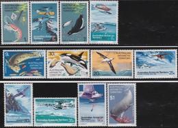 A.A.T.    .   SG  .   23/34     .    **     .  MNH    .   /    .   Postfris - Territoire Antarctique Australien (AAT)