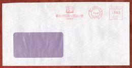 Brief, Absenderfreistempel, Kk Kaiser + Kraft, 80 Pfg, Renningen 1987 (72619) - [7] République Fédérale