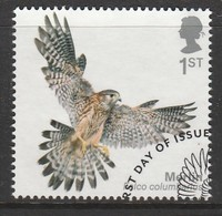 GB 2019 Birds Of Prey 1st Multicoloured SW 4045 O Used - Oblitérés