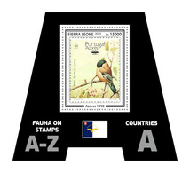 Sierra Leone. 2019 Stamps On Stamps. (Azores 1990) 0303b9  OFFICIAL ISSUE - Timbres