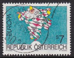 Austria 1993 Mi-Nr. 2095, Europa Zeitgenössische Kunst, Gestempelt, Siehe Scan - 1945-.... 2ème République