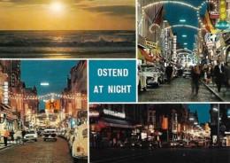 Belgique Belgium Oostend Ostend At Night - Oostende