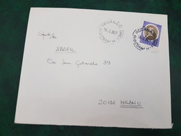 (31186) STORIA POSTALE ITALIA 1977 - 1946-.. République