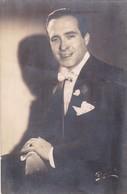 ROBERTO QUIROGA COMPOSITOR AUTOGRAPHE PHOTO SIZE 13x8.5cm YEAR 1947 - BLEUP - 1952-65 Elizabeth II: IEmissione Prima Decimali
