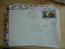 Lot De De 25 Lettre Afrique Timbre Seul Ou En Multiple Togo Tunisie Etc... - Briefmarken