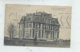 """Hautefeuille (77) : GP De La Villa Bourgeoise Dite """"Le Château""""  En 1910 (animé) PF - Autres Communes"""
