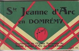 Carnet De 20 Cartes Sur  Jeanne D'Arc - Personnages Historiques