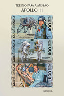 Guinea Bissau. 2019 Building Of The Apollo 11 Spacecraft. (0310b)  OFFICIAL ISSUE - Espace