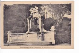 BOULOGNE-sur-MER - Le Monument Du Souvenir Français - Boulogne Sur Mer