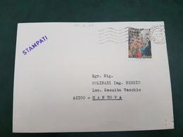 (31193) STORIA POSTALE ITALIA 1977 - 6. 1946-.. Repubblica