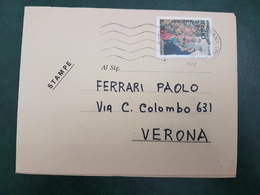 (31194) STORIA POSTALE ITALIA 1977 - 6. 1946-.. Repubblica
