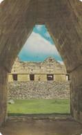 ARCO MAYA-CPA CIRCULEE 1968 VILLA OLIMPICA MEXICO~ISRAEL RARE CIRCULATION - BLEUP - Messico