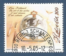 Schweiz / Helvetia  2005   Mi.Nr. 1927 , EUROPA CEPT - Gastronomie - Gestempelt / Fine Used / (o) - Europa-CEPT