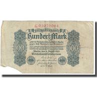 Billet, Allemagne, 100 Mark, 1922, 1922-08-04, KM:75, B - [ 3] 1918-1933 : République De Weimar