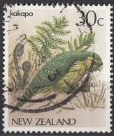 Nuova Zelanda 1986 Sc. 766 Native Birds Uccelli Pappagalli . Kokako New Zealand Callaeas Cinereus - Nueva Caledonia