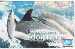 GIBRALTAR - Dolphins, CN : 709L, Tirage 3000, Mint - Gibraltar