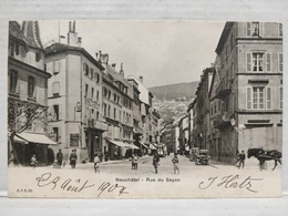 Neuchatel. Rue Du Seyon - NE Neuchâtel